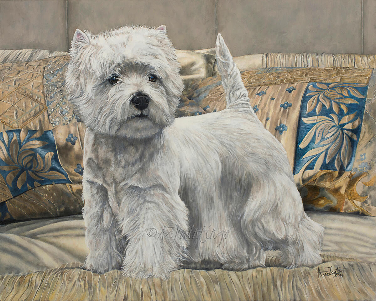 West Highland White Terrier, Ch Burneze Geordie Girl